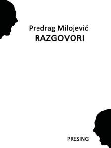 Jelica Kiso: Poezija Predraga Milojevića