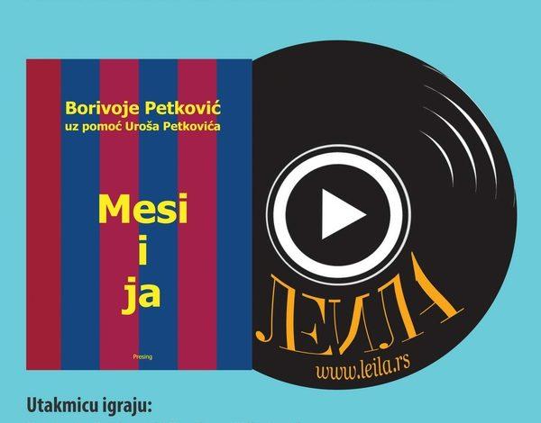 Promocija romana Bore Petkovića – Mesi i ja