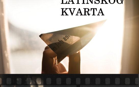 Saša Paunović – Pisma iz Latinskog kvarta